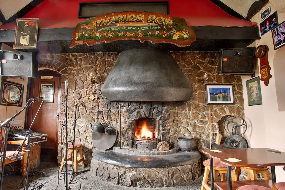 Fireplace, Marine Bar