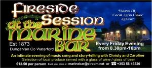 Marine Bar Fireside Sessions